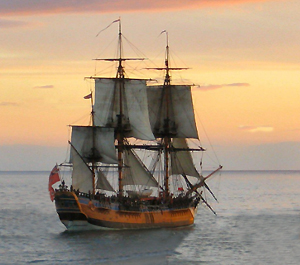 the success of the bark endeavor voyage under the command of james cook Rigging on hm bark endeavour replica resources are available on the endeavour website under hmb endeavour voyage was primarily scientific and the ship was.
